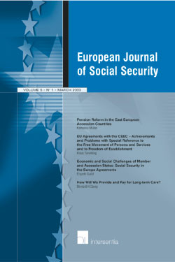 European journal of Social Security