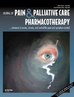 Journal of pain and Palliative care Pharmacotherapy