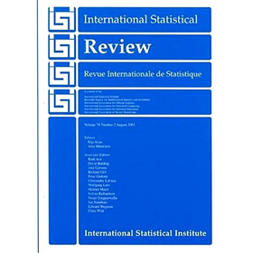 International Statistical Review