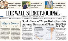 The Wall street journal - on-line