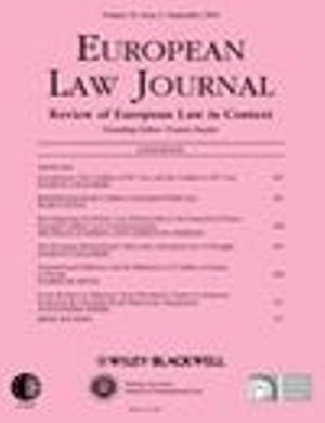 European Law Journal