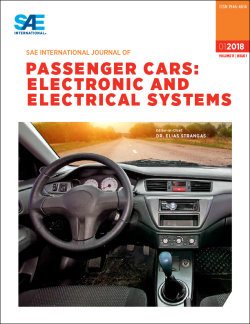 SAE International Journal of Passanger Cars: Electronic and Electrical Systems